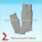 Mercerized cotton mens dress socks cotton socks