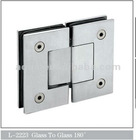 stainless steel 304 glass hinge
