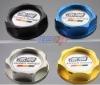 Aluminum universal oil filler cap