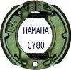 motorcycle brake dics CY80/ brake shoe CY80