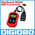 MS 300 OBD II protocols (including CAN) AUTO CODE SCANNER READER MaxiScan MS300