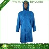 Custom Soft Super Light Breathable Fitted Wind Proof Long Rain Jacket