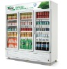 upright showcase, refrigerated showcase, single-temperature showcase