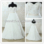 wy10091 Hot Sell Princess Layered A-line Wedding Dress