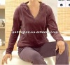 popular ladies wellness velour jacket