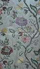 Floral pattern silk jacquard home sofa curtain fabric