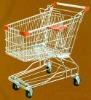 shopping trolley(shopping cart,supermarket equipment)