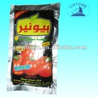 70g standard tomato paste in standing pouch hot sell in Africa