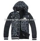 Adult men's 100% cotton warm sports windbreaker hoodiejacket /lesiure wind coat/wind block jacket/men's waterproof blacer jacket