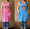 the cute colorful fashion apron, customized promotional apron