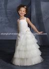 2011 High Quality Lovely Flower Girl Dress FG-V0054