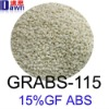 15% GF ABS plastic, abs pellets