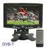 7 Inch Portable DVB-T LCD Digital TV