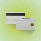 2013 Latest PVC Plastic Chip Card with magnetic stripe