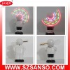 Plastic Fan, Led Message Fan, Gift Fan