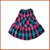Cotton children' short skirt