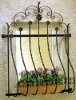 decorative wrought iron windows grill design