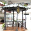 decorative wrought iron gazebo