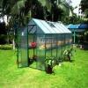 Garden green house glass