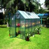 Garden green house glass