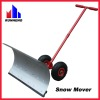 Metal Snow Shovel/Snow Mover with wheels