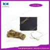 golden metallic packaging loop elastic rope/string/cord
