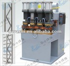 Wavy line shelf welding machine