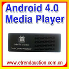 2012 New Arrival Android 4.0 HD 1080P Dual Core Mini Media Player