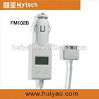 FM102B LCD Screen car fm transmitter mp3 driver