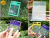 hot! transparent solar calculator with Touch Screen/hot sale pocket calculator