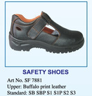 2012 new steel toe safety sandals