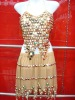 Sexy sparkly sequined shiny Handmade Vintage Belly Dance Stage Costume (KCC-DPWTZ0036)