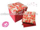 2010 new red apple non-woven storage box