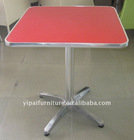 shunde hot sale table fireproofing table red coffee bar furniture