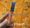 HOT! Fruit Flavor Shimmer LED Lip Gloss-Peach