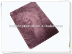 microfiber mat,100%polyester TPR,place mat,new design carpet mat