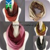 Ombre 2tone gradient long circular infinity endless loop circle super soft scarf