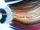 100%human hair color ring