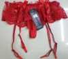 new design sexy lace garters belt with thong
