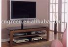 Modern Glass TV stand,TV shelf