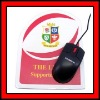 rubber mouse pad with printed logo