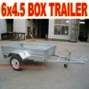 Box Trailer 6 x 4.5 Galvanized Box Trailer