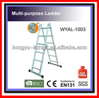 Aluminium alloys Ladder folding plateform WYAL-1003 steps ladder