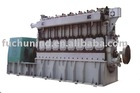 Biomass gasification gas generating set
