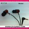 Hottest wooden earphone