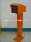 Simple ticket reader for car parking