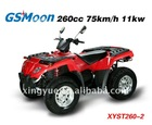 260cc Water Cooled ATV with automatic transmission