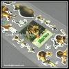 Foam Cartoon Sticker