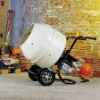 Electric portable cement mixer