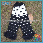 hot sale black cotton leg warmer for baby